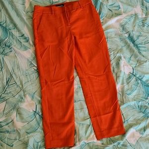Orange dress pants